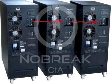 Nobreak HP Senus 10 kVA 2/1