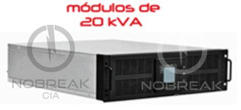 Nobreak Modular 120 kVA Senus HPM
