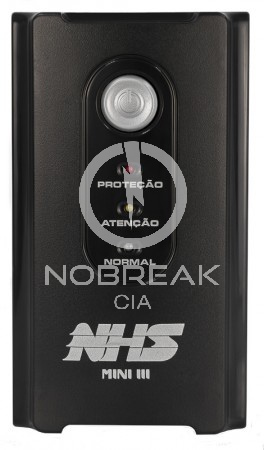 Nobreak NHS Mini Senoidal 600 VA