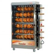 ASSADOR DE FRANGOS INOX A GAS PROGAS 30 FRANGOS 127/220V MOD. PR-631 REF.24421