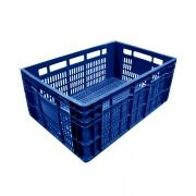 Caixa 45,5lt p/ uso geral azul a24 x l40 x c60 cm mercoplasa ms-24 ref. 10605