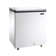 Freezer horizontal comerc. esmaltec 215lt 127v d.a. mod. chest efh250s