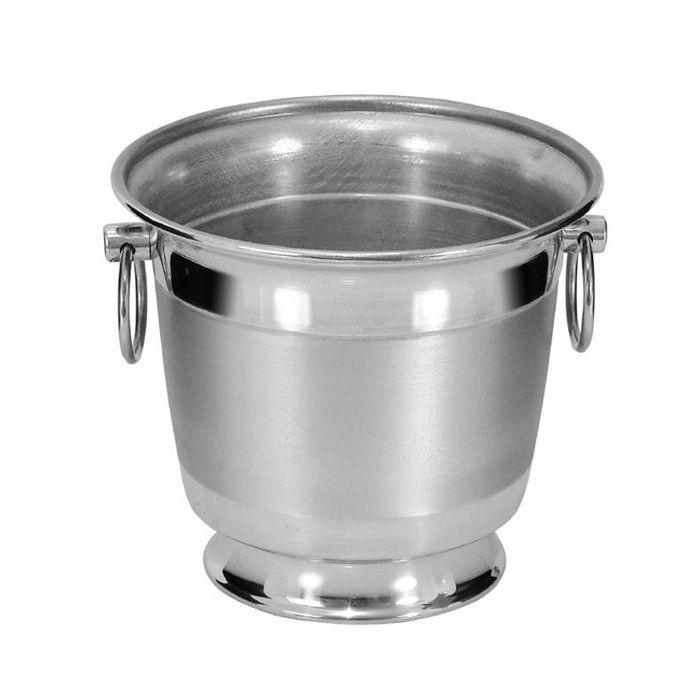 Balde p/ concha de sorvete em aluminio s/ alca gallizzi ref. 5.sae