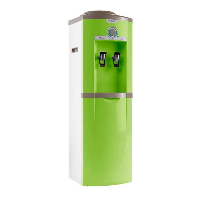 Bebedouro garrafao 20lt/hr 2 torn. verde esmaltec 127v mod. egc35b