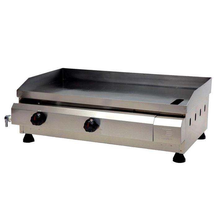 Churrasqueira a gas edanca 70 cm 2 queimadores mod.cg-70 ref: 10203005