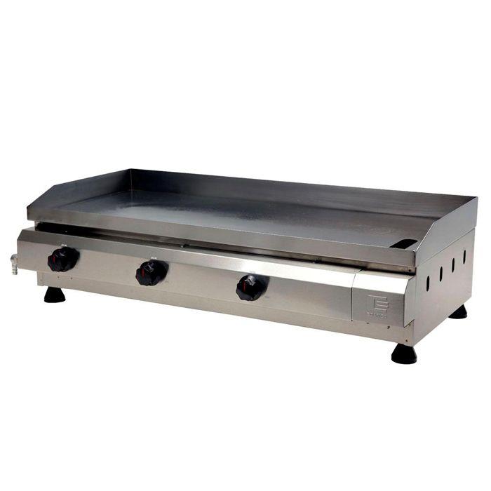 Churrasqueira a gas edanca serie prata 80 cm 3 queimadores mod.cgp-80