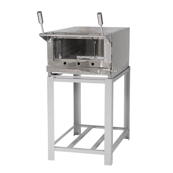 Forno em inox refratario venancio mod.firi80 s/ kit gas ref. 102030801006