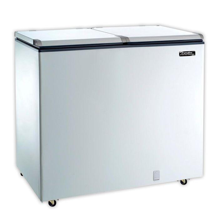 Freezer horizontal comerc. esmaltec 305lt 127v d.a. mod. chest efh350s
