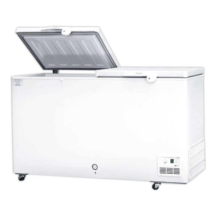 Freezer horizontal comerc. fricon 503lt 127v mod: hced-503-1c