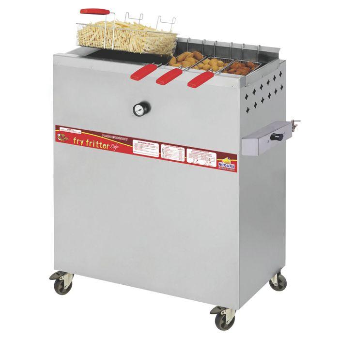 Fritador a gas a oleo e agua 30lt progas mod. pr-3000bpg ref. p27799/ p29768
