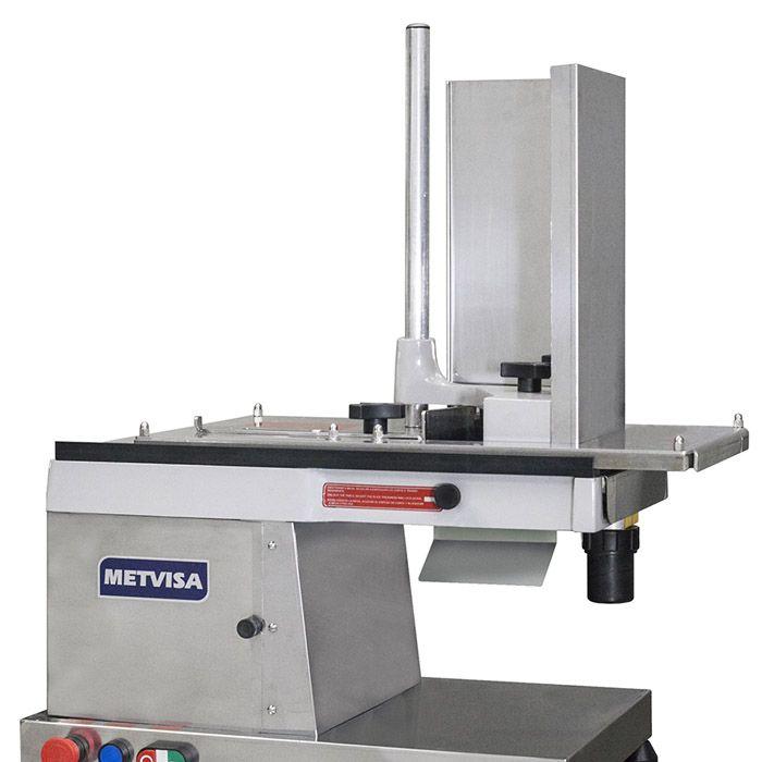 Nr-12 cortador de frios automat. 300mm 127/220v visa aco inox 1/3hp mod.cfh300