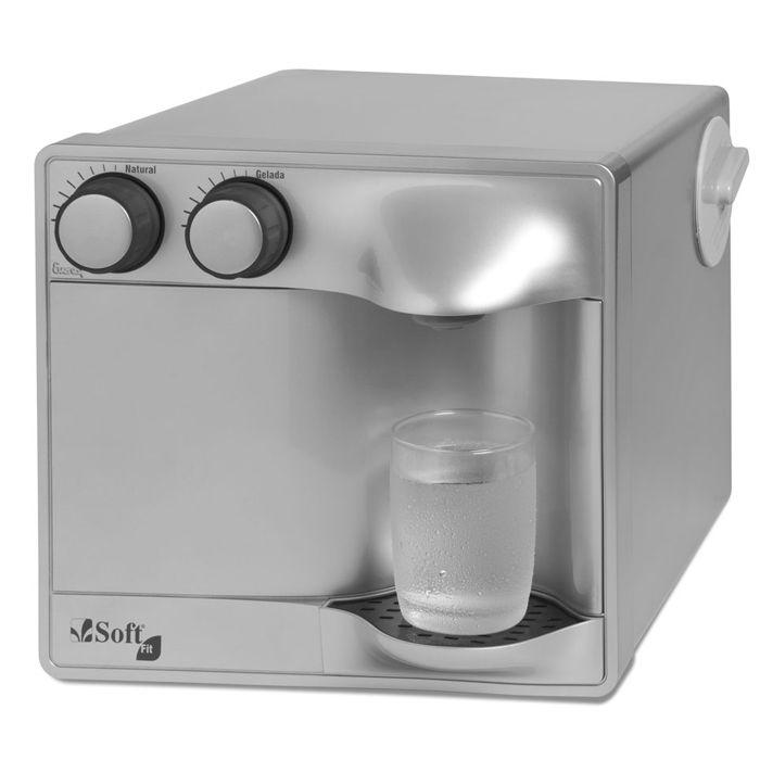 Purificador de agua everest soft fit 127v prata/prata ref. 51621