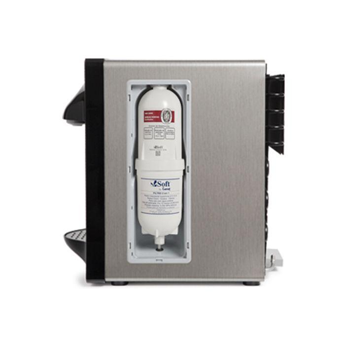 Purificador de agua everest soft star 220v preto/cinza escov. ref. 51687