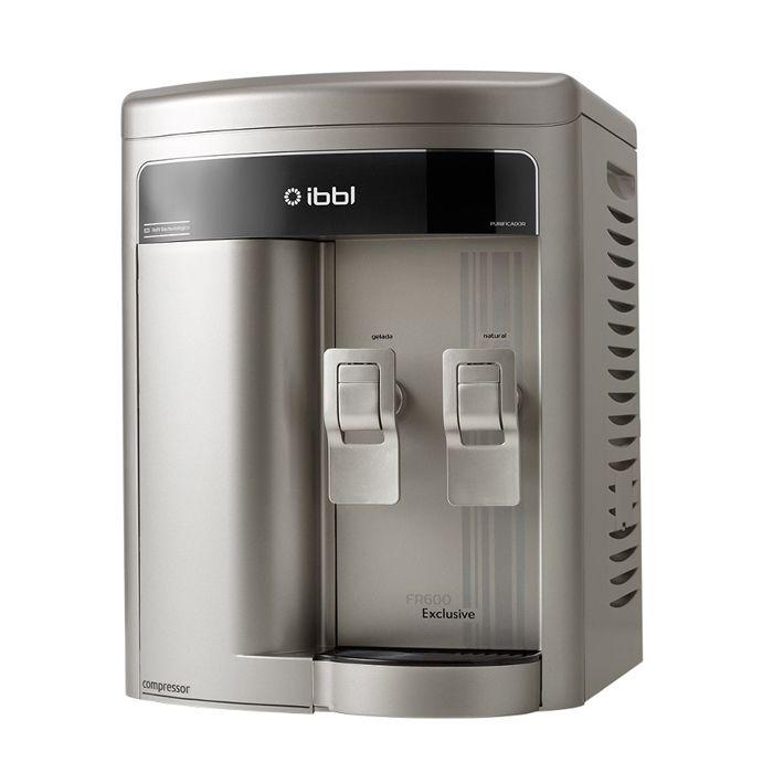 Purificador de agua prata / prata ibbl exclusive 127v mod. fr-600