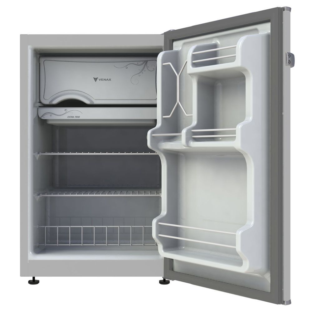 Refrigerador compacto venax 82lt 127v porta inox mod. ngv 10