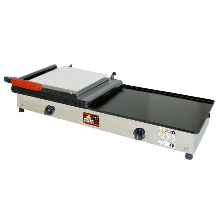 Sanduicheira conjugada a gas 1 prensa progas 95cm mod.pr-950g ref.5007/ p24947