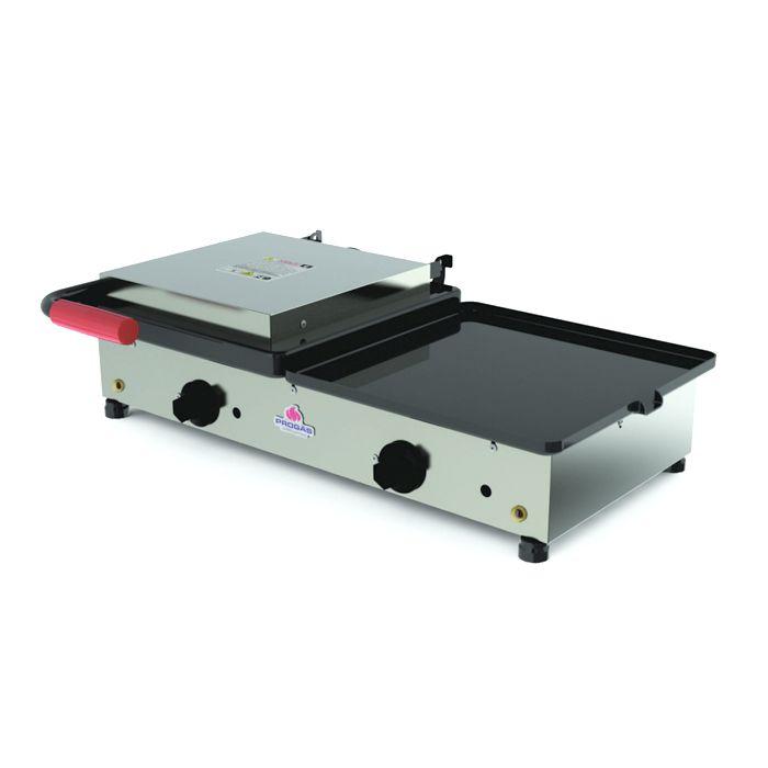 Sanduicheira conjugada eletrica 1 prensa progas 43x66cm 220v mod.pr-700 25008