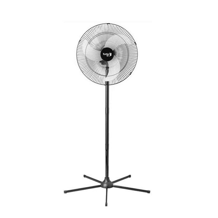 Ventilador de coluna 60cm 127/ 220v preto  loren sid 3v mod.tufao ref.2445/2446