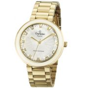 fc33ff287bf Relógio Champion Crystal Feminino Dourado CN29972H