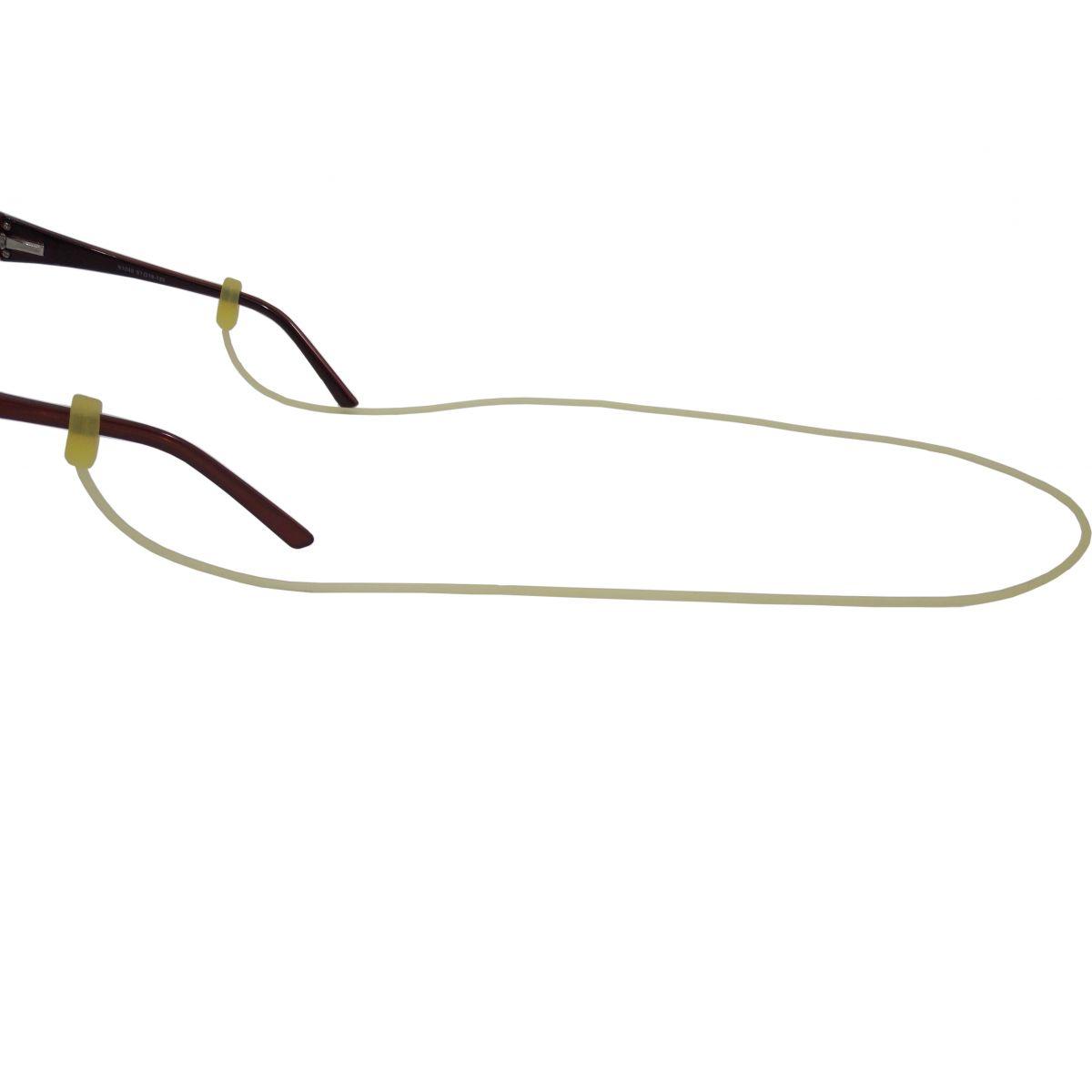Cordão De Silicone Para Óculos Amarelo 3879