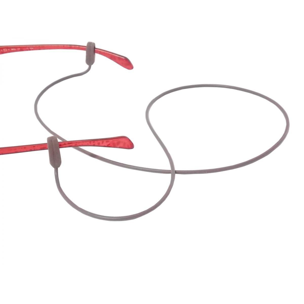 Cordão De Silicone Para Óculos Marrom 3884