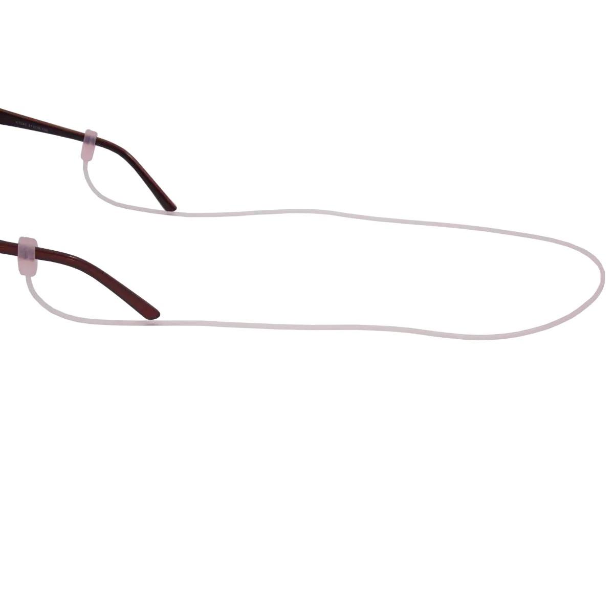 Cordão De Silicone Para Óculos Rosa 3882