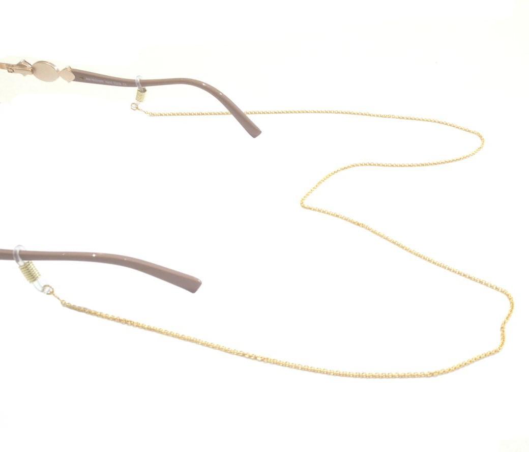 Cordão Para Óculos De Grau Mini Círculo Niquel Dourado 1605481