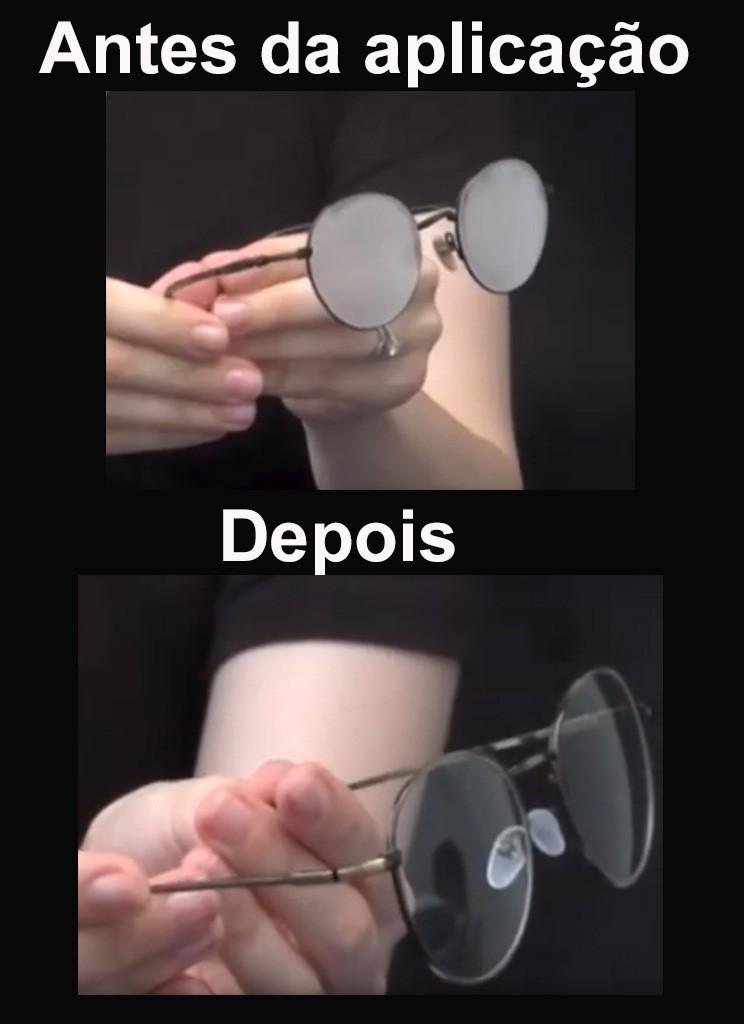 Flanela Antiembaçante previne embaçar Óculos