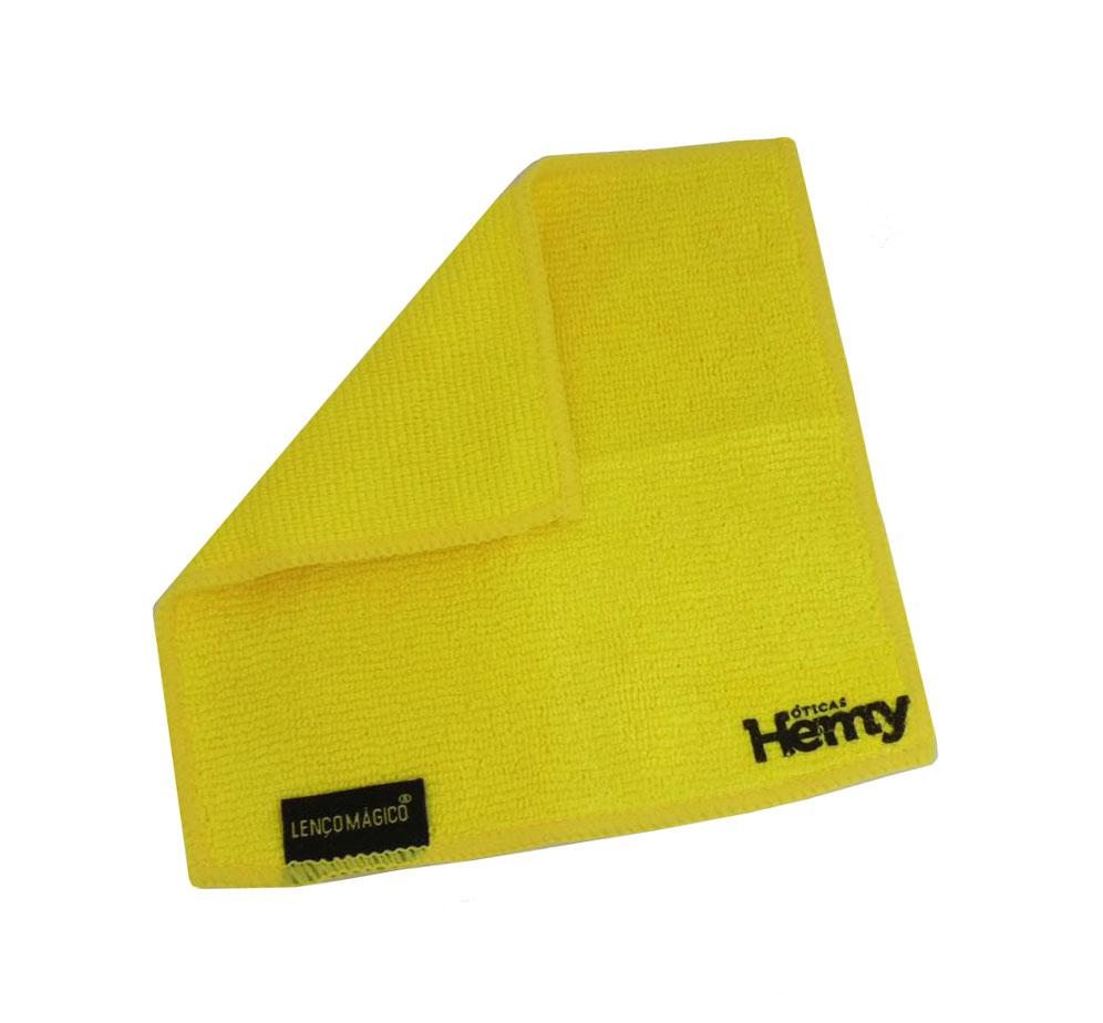 Flanela de Microfibra Lenço Mágico Para Limpeza de Lentes 236 Amarelo