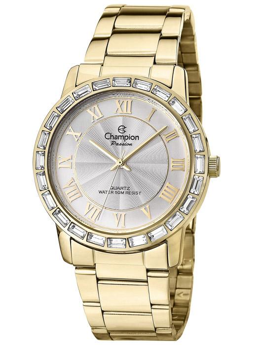 5cec5256107 Kit Relógio Feminino Champion Passion Cristais CN28857W