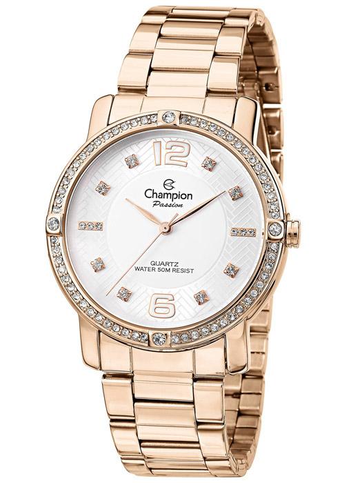 087873c4fbd Kit Relógio Feminino Champion Passion Rosê CN28688J
