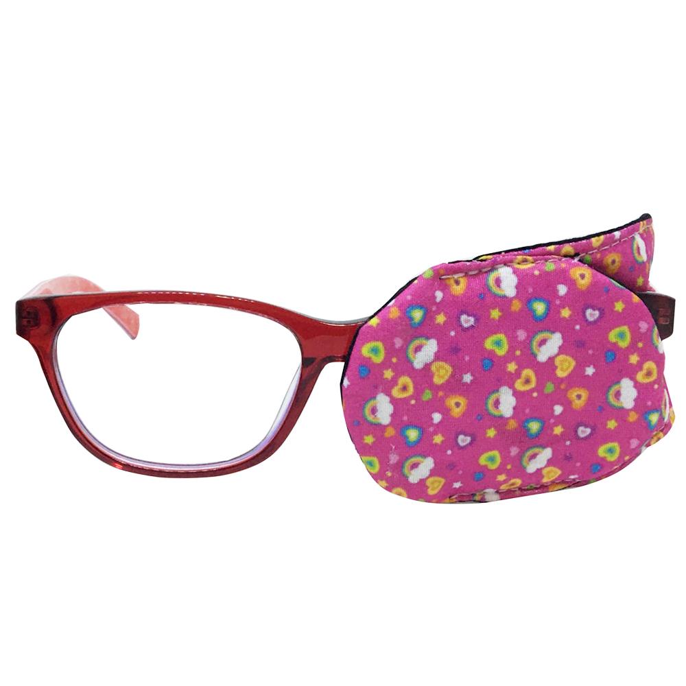 Tapa Olho, Oclusor, Tampão Ocular Infantil Menina Tratamento de Estrabismo, Ambliopia, Olho Preguiçoso
