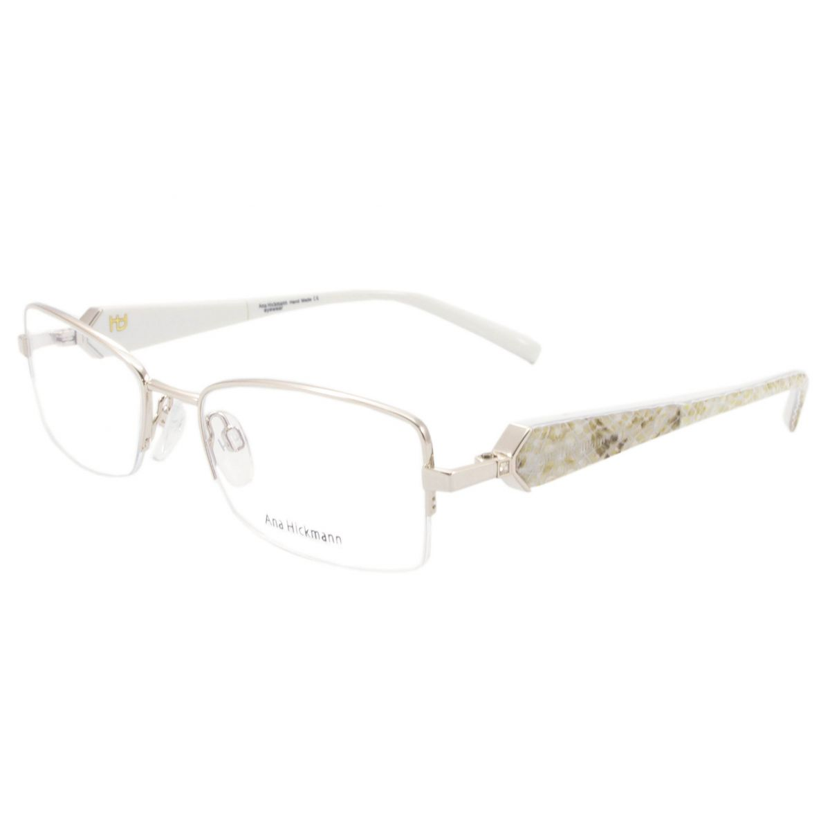 Óculos De Grau Ana Hickmann Duo Fashion AH1208 04A Tam.52Ana ... a83c06956b