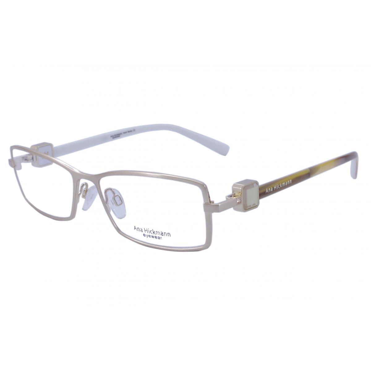 Óculos De Grau Ana Hickmann Duo Fashion AH1275 04A Tam.53Ana ... 7802d7117e