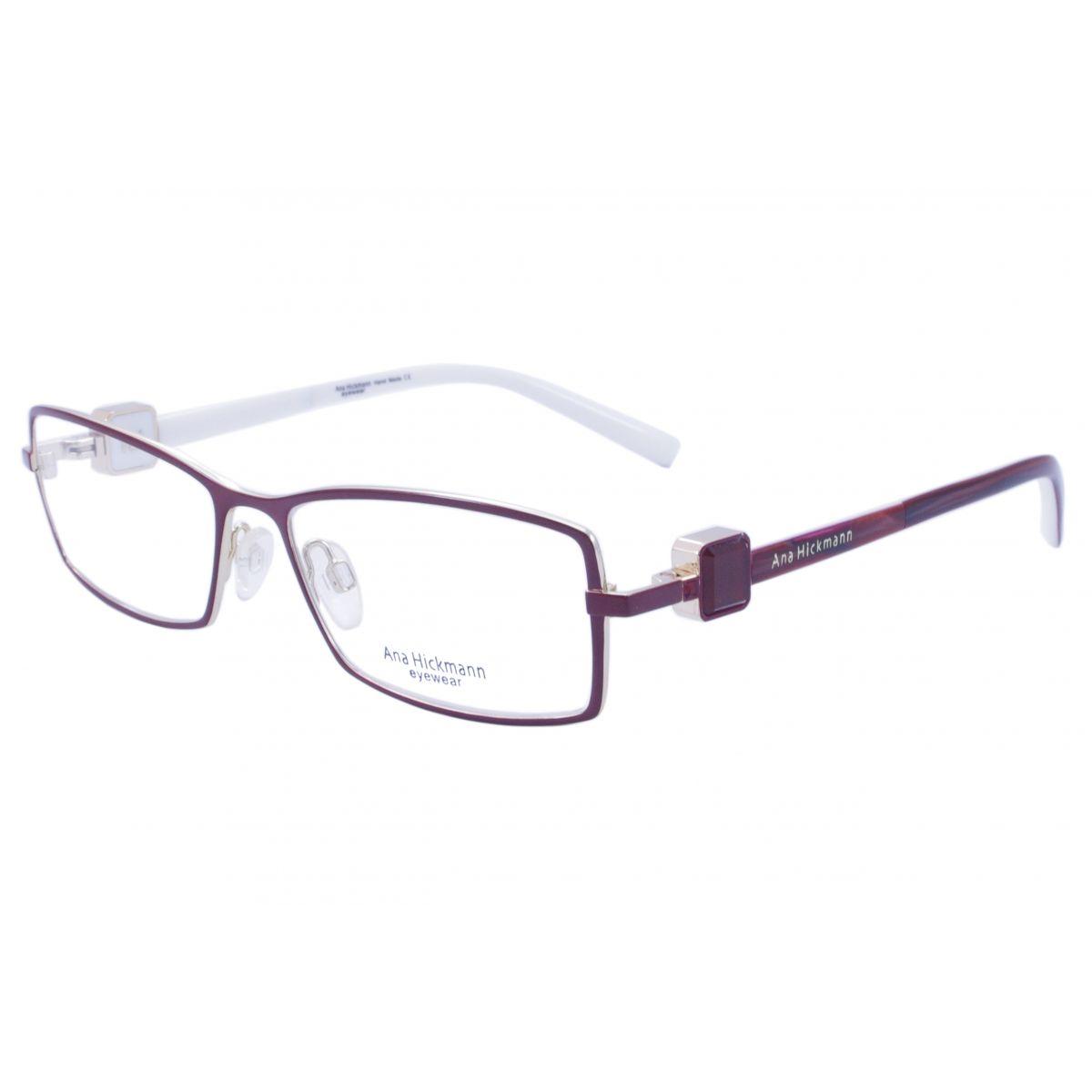 Óculos De Grau Ana Hickmann Duo Fashion AH1275 07A Tam.53Ana ... 97851e4b94