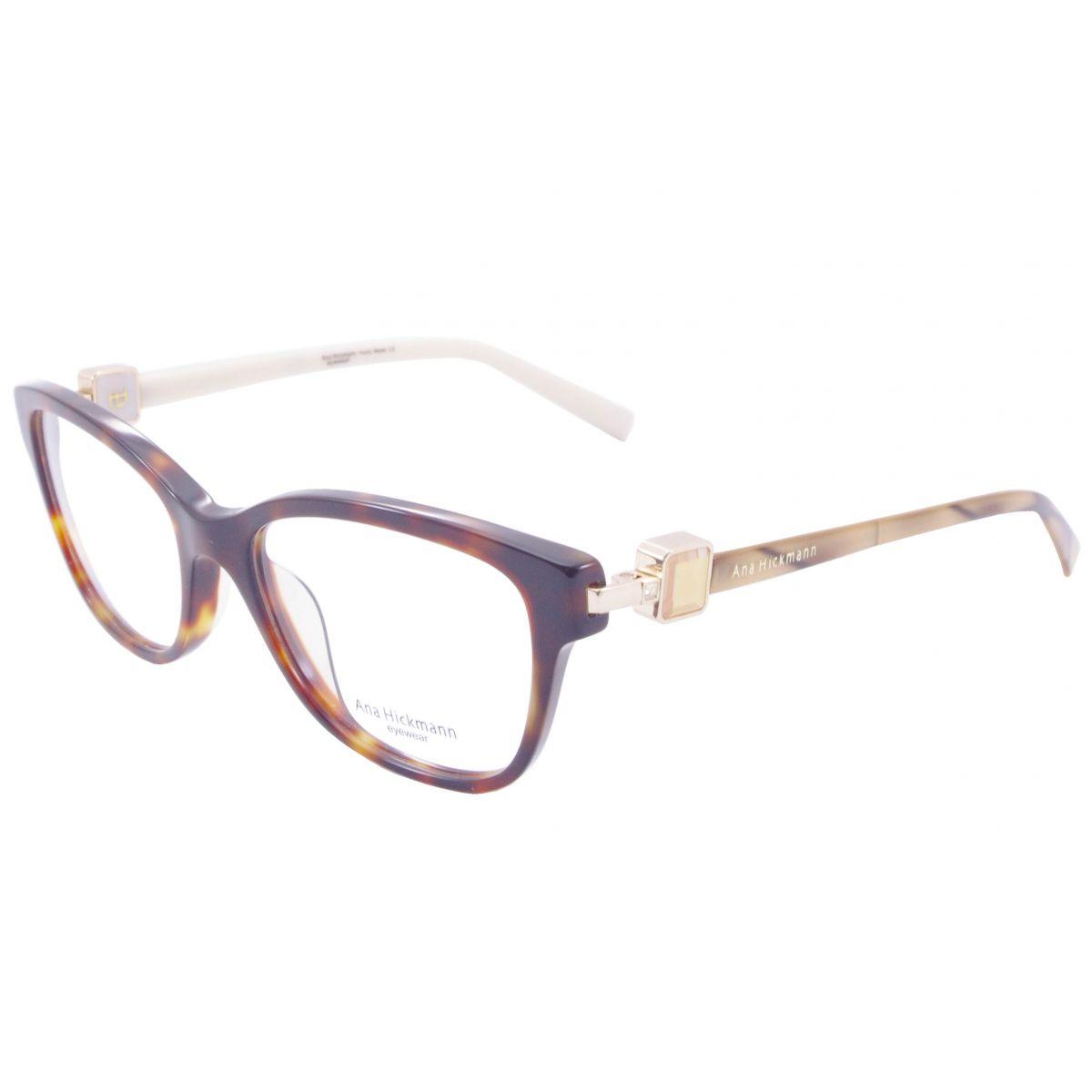 Óculos De Grau Ana Hickmann Duo Fashion AH6203 G21 Tam.51Ana ... 9c8577be0f
