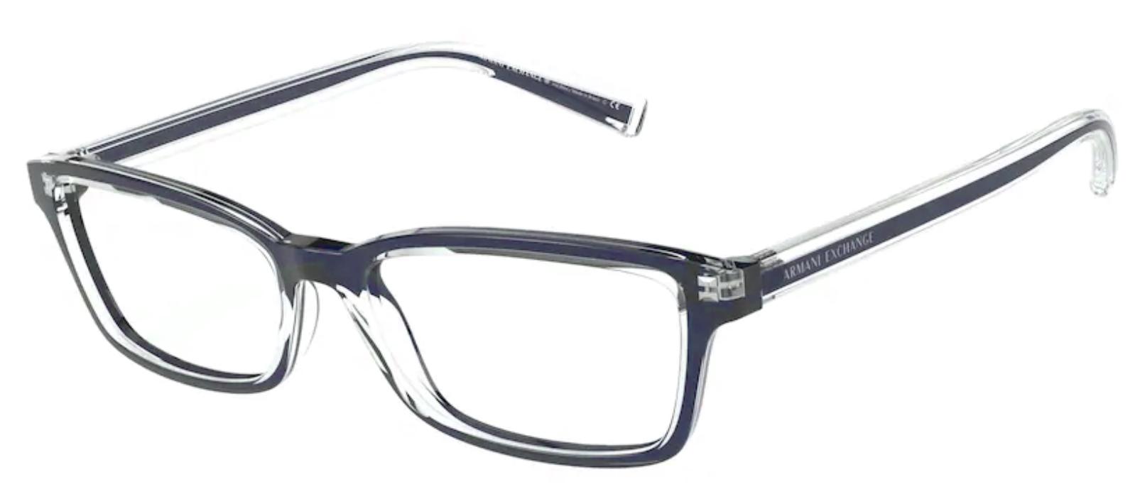 Óculos de Grau Armani Exchange Azul AX 3074 8323 Tam.54