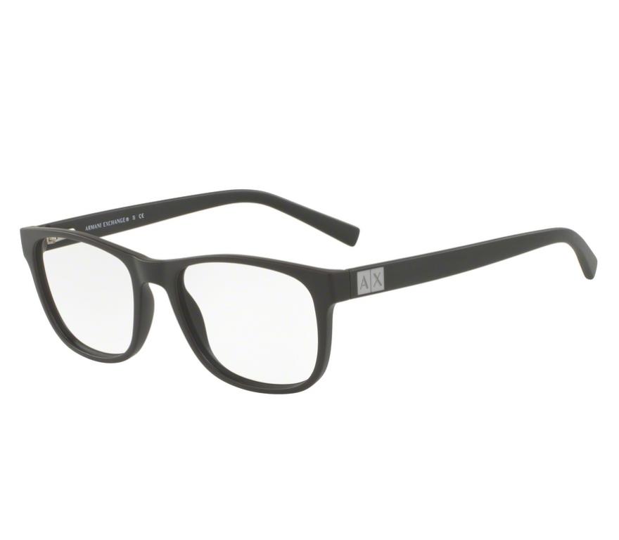 bc2367cb442b1 Óculos de Grau Armani Exchange Marrom AX 3034L 8194 Tam.54Armani ...