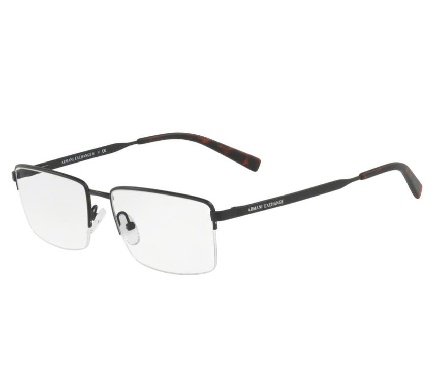 22f940388 Óculos de Grau Armani Exchange Masculino AX 1027 6102 Tam.54Armani ...