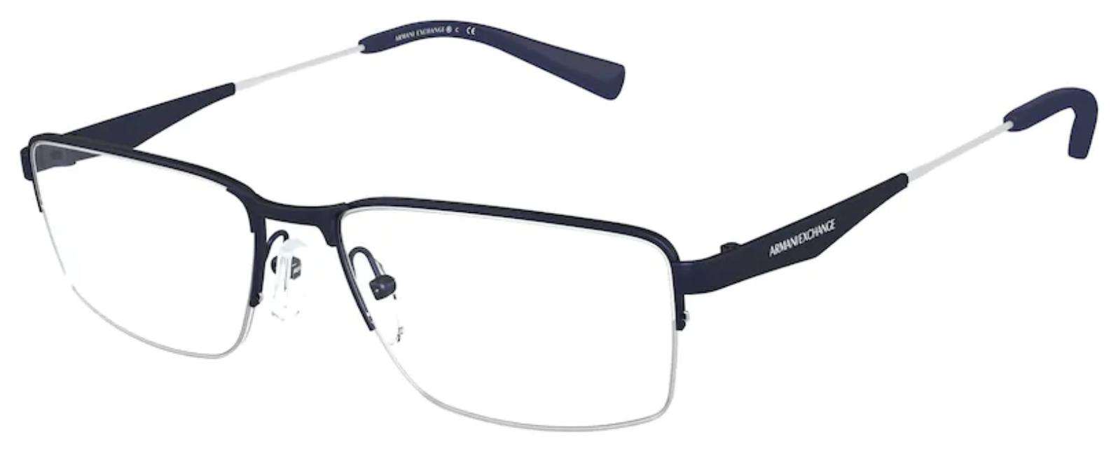 Óculos de Grau Armani Exchange Masculino AX 1038 6113 Tam.56