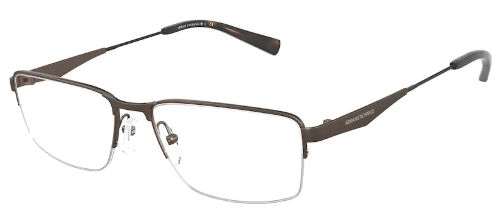 Óculos de Grau Armani Exchange Masculino AX 1038 6114 Tam.56