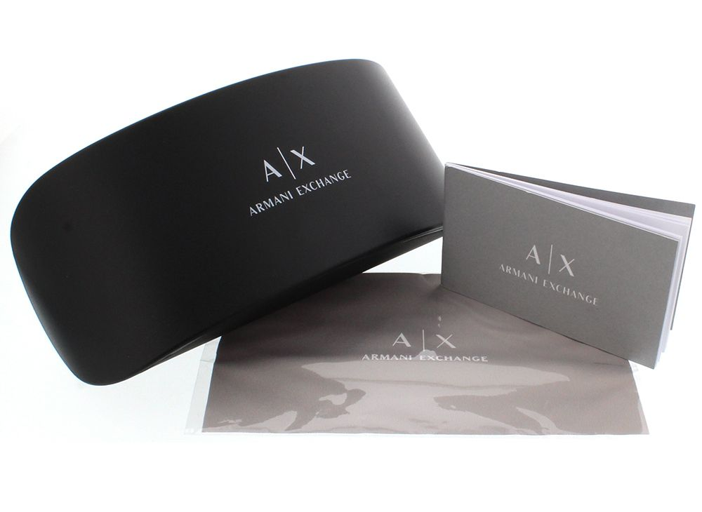 fbe0a8cd4 Óculos de Grau Armani Exchange Preto AX 3007L 8078 Tam.53Armani ...