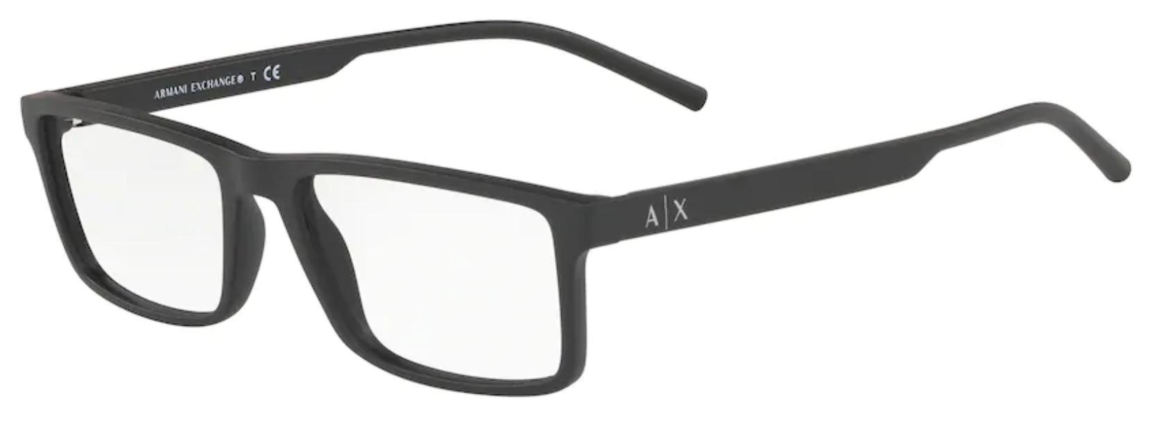 Óculos de Grau Armani Exchange Preto AX AX3060 8029 Tam.54