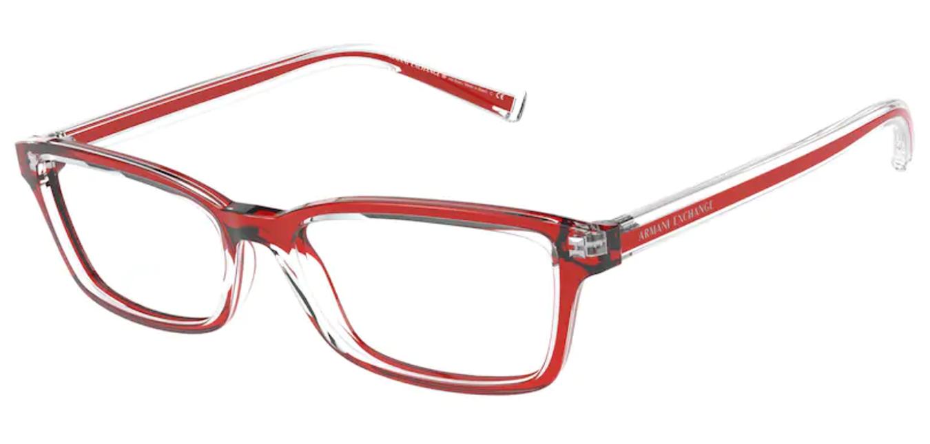 Óculos de Grau Armani Exchange Vermelho AX 3074 8322 Tam.54