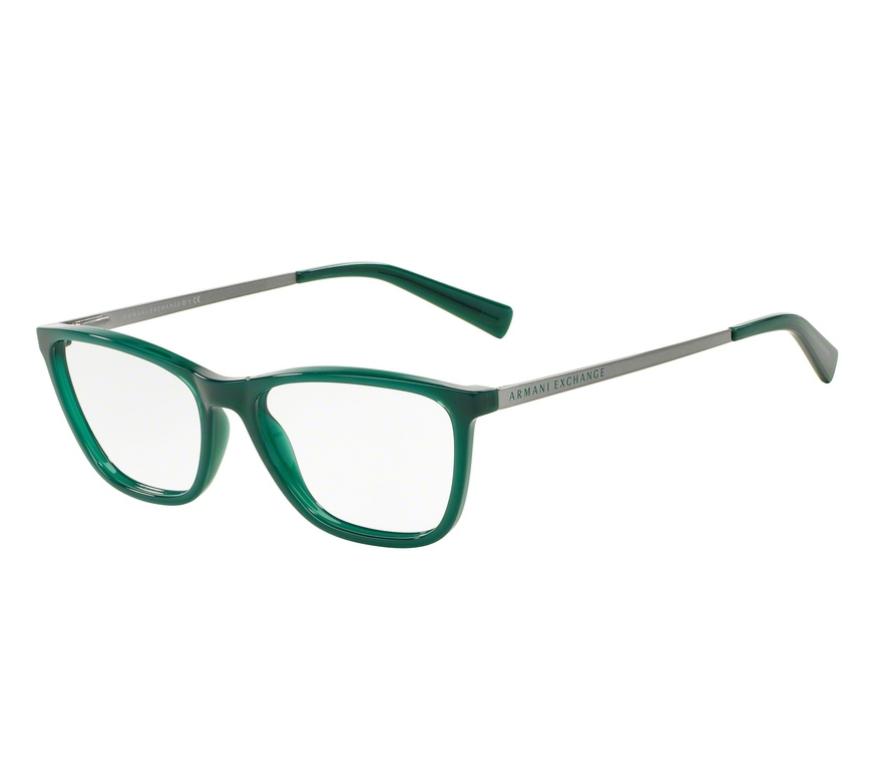 db27ce2ec Óculos de Grau Armani Feminino Verde AX3028L 8170 Tam.53Armani ...