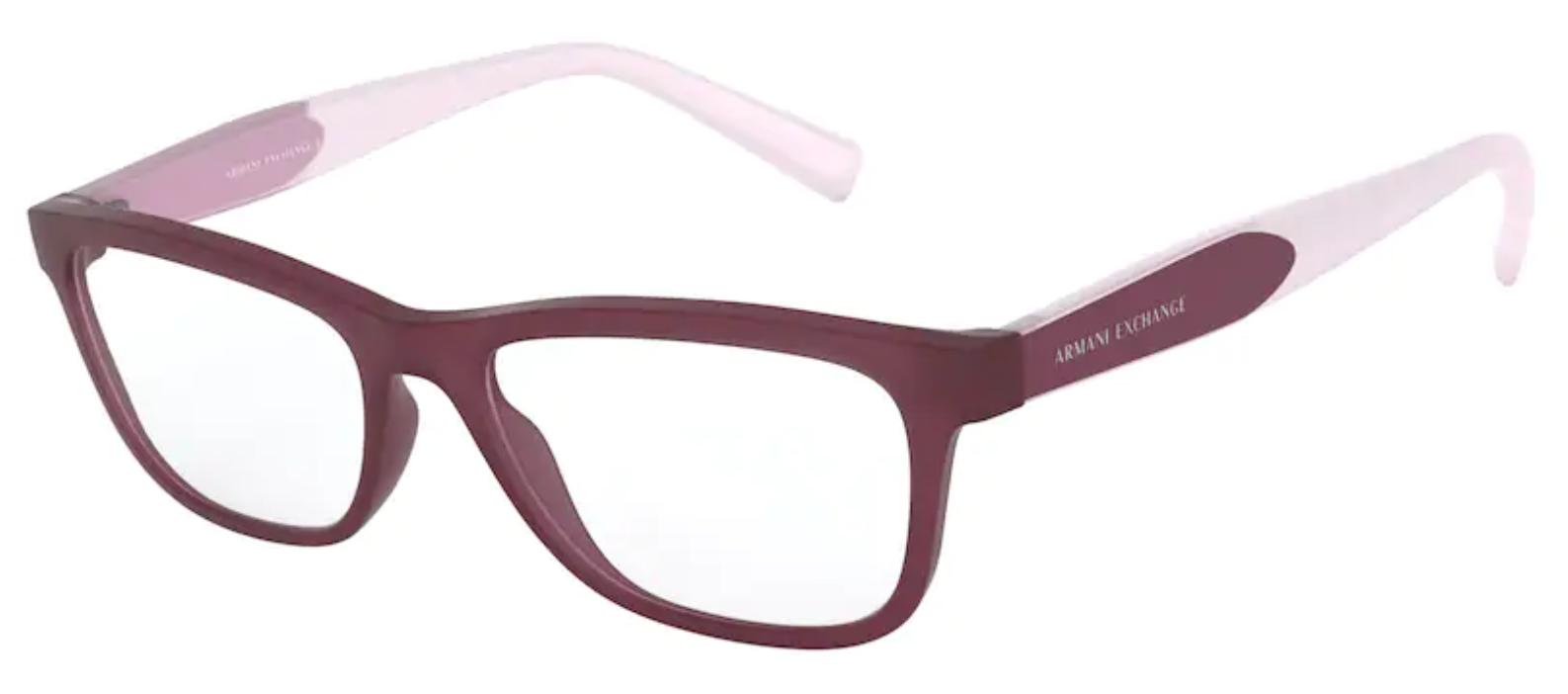 Óculos de Grau Armani Feminino Violeta AX 3068 8303 Tam.52