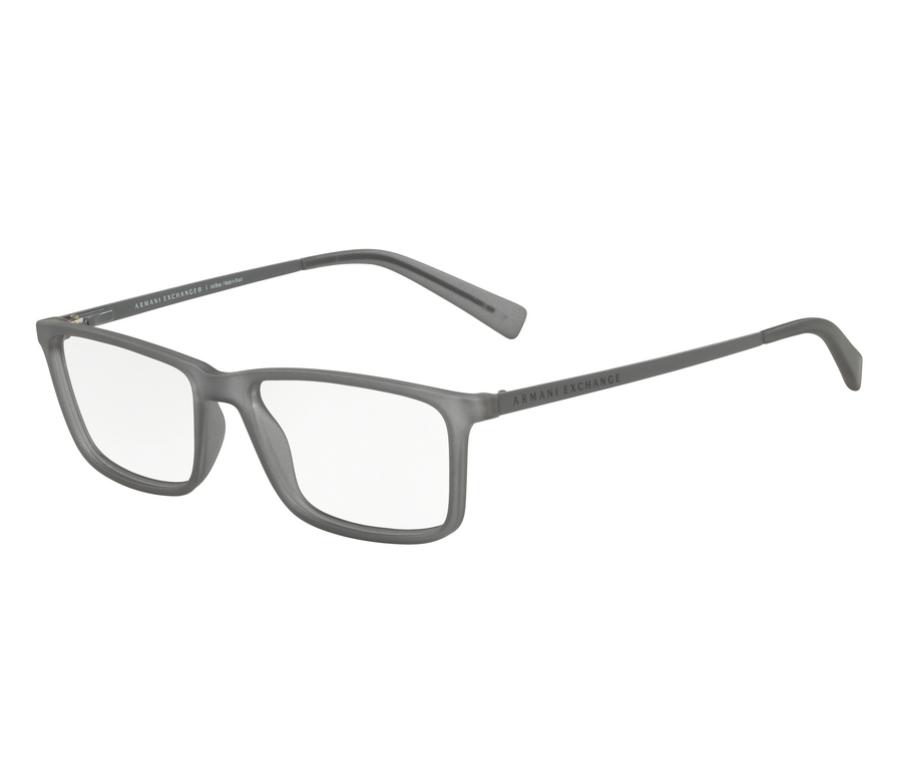 dfcc46347 Óculos de Grau Armani Masculino Cinza AX 3027L 8232 Tam.55Armani ...