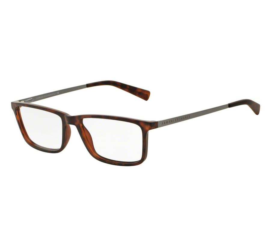 3d8256a47beda Óculos de Grau Armani Masculino Tortoise AX 3027L 8029 Tam.55Armani ...