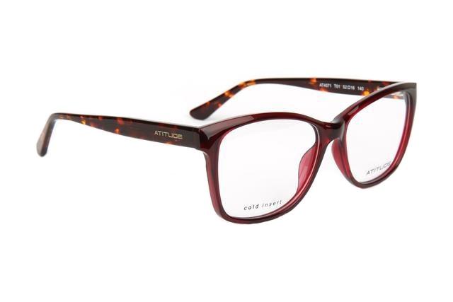 Óculos de Grau Atitude Feminino AT4071 T01 Tam.52Atitude ... 3341b8b989
