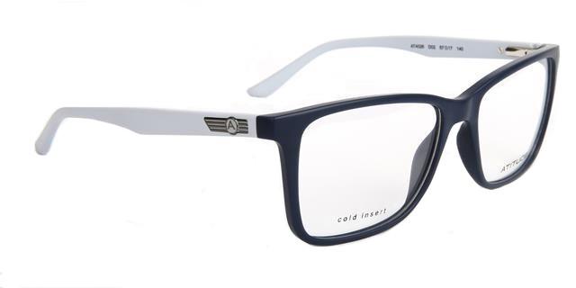 ab3f8b936b91e Óculos de Grau Atitude Masculino AT4026 D02 Tam.57Atitude ...